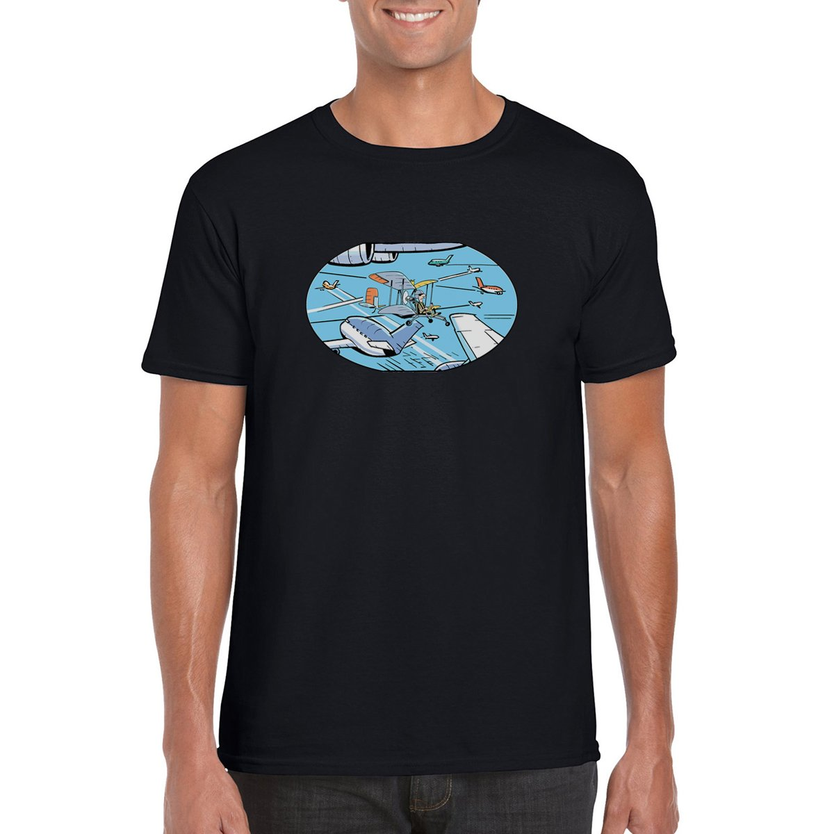 Swamp Air Traffic Control T Shirt